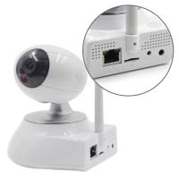 Network Video Home IP Camera , Pan / Tilt / Zoom camera with TF card recording Manufactures