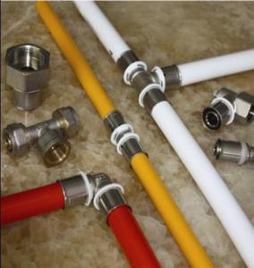 seamless weld PEX-AL-PEX multilayer pipe for floor heat Manufactures