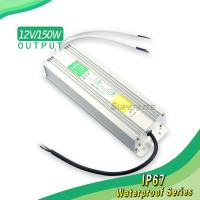 12V 150W LED switching power supply waterproof IP67 Manufactures