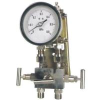 Buy cheap Double diaphragm differential pressure gauge for high steady from wholesalers