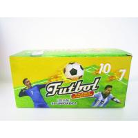 World Cup Multi Fruit Flavor CC Stick Candy With Tattoo Stick And Soccer Whistle Manufactures