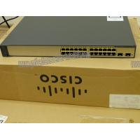 WS-C3750V2-24PS-S 32Gbps Wired Network Switch PoE- 24 10/100 +2 x SFP Manufactures