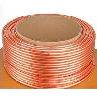 ASTM B111 C44300 , C68700 Brass Tube For Condenser And Cooling Application Manufactures