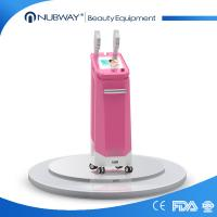 vertical 500000 shots in warranty germany lamp three working model SHR IPL Elight shr hair removal beauty equipment Manufactures