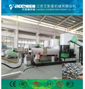 PP PE woven bags film fakes granulation machine pelletizer line extrusion machine plastic extruder machine Manufactures