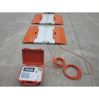 High Accuracy Truck Axle Scales With Static Indicator For Forestry Construction Manufactures