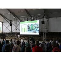 Quality P6 SMD3535 High Definition Outdoor Large Rental LED Video Wall Display Panel for sale