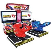 Manx Tt Twin Motor Bike Gaming Machine For Game Center Initial D Stage 3 Manufactures