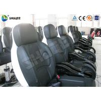 Genuine PU Leather Movie Theater Seat Dynamic For 5D Cinema System Manufactures