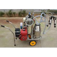 XD32Q Vacuum Pump gasoline-engine driven and electric motor-driven mobile milking machine Manufactures