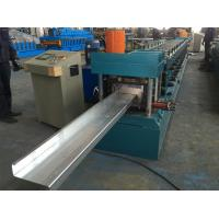 China Chain Drive Steel Plate Roll Stand Type Z Purlin Roll Forming Machine on sale