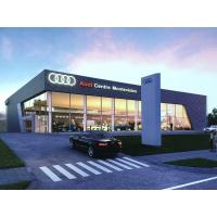 Prefabricated Steel Structure AUDI Showroom and Workshop Building Design Manufactures