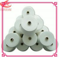 high quality polyester spun virgin yarn 45s/1 for knitting Manufactures