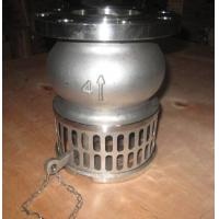Hand Lever Operator SS Stainless Steel Foot Valve For Oil , Liquid / Suction Foot Valve Manufactures