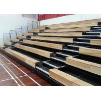 Customized Modular Grandstands Timber Bench Electrical Control Systems For Spectators Manufactures