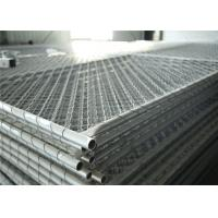Buy cheap Chain Mesh Construction Wire Fence Panels OD 33.2mm wall thick 1.5mm Mesh 60mmx60mm Diameter 2.7mm from wholesalers