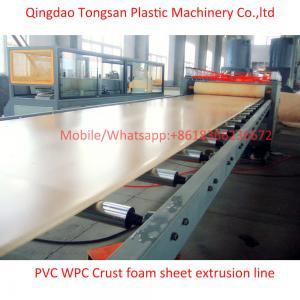 China WPC PVC foam board extrusion line WPC PVC foam board making machine on sale