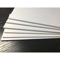 Outdoor White PVC Extruded Foam Board High Impact Anti - Corrosion ISO9001 Manufactures