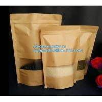 China Kraft Paper Bag Fresh Bread Candy Gift Bag 1000 pcs Small Vintage Wedding Treat Bags,Eco-frirendly custom printed paper on sale