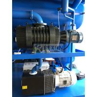 High Vacuum Dehydration Transformer Oil Filter Machine With 3000L / H Capacity Manufactures