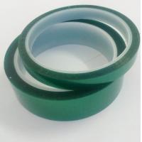 Single Sided Coating High Temperature Resistant Tape Polyester Film Silicone Adheisve Manufactures