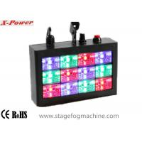 Sound-activated LED Strobe Lights With 12 pcs * 1w RGB High Power LEDs  VS-74 Manufactures