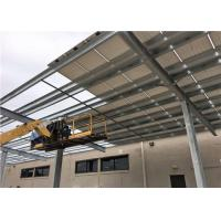 Single Multi Carport Solar Systems Easy Installation Thickness 0.5mm-15mm Manufactures