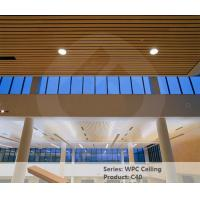 Eco Friendly Wood Plastic Composite Ceiling Panel 40mm * 25mm Fireproof Manufactures