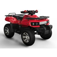 China Red Utility ATV CVT With Offroad Tire Or Road Tire , Hydraulic Brake on sale