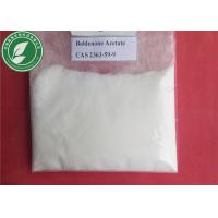 99% White Steroid Hormone Boldenone Acetate For Fitness CAS 2363-59-9 Manufactures