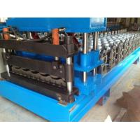 China Steel Roof Glazed Tile Roll Forming Machine Professional 18 Stations on sale