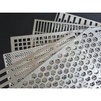 China Round Hole Pattern Perforated Sheet Metal , Architectural Perforated Metal Panels on sale