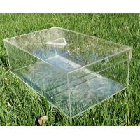 China manufacturer clear Acrylic shoe box supplier Manufactures