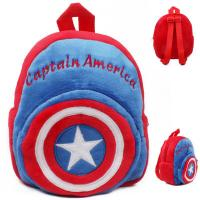 Captain America Childrens School Backpacks For Boys , Cool Kids School Bags Manufactures