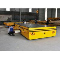 10 t cargo plant trailer on cement floor with hydraulic lifting function Manufactures