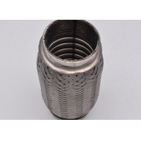 Quality SS409 45×152mm Stainless Steel Exhaust Flex Pipe for sale