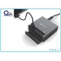 4 Ports Multiple USB Quick Charger Desktop Charging Station with QC 3.0 Support Manufactures