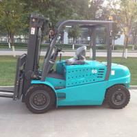 6 Ton AC Electric Forklift Truck Battery Power Type With Lifting Height 6000mm Manufactures