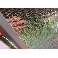 China 1mx2m Painted Expanded Metal Mesh For Highway Guardrail Bridge Safe Fencing on sale