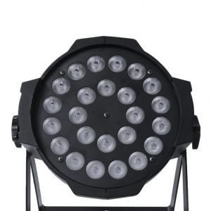 24x10W Par 64 Can Lights Silent Fan RGBW Indoor 4in1 DMX LED Par Lights Manufactures