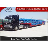 Double Axles Vehicle Transport  Trailer  Wheelbase Dimensions 10 Cars Carry Manufactures