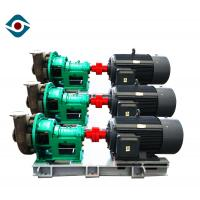 Duplex Stainless Steel Strong Sulfuric Acid Pump , Acid Resistant Chemical Pump Manufactures