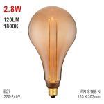 S165 Bulb, Decorative Lamp, E27 LED Bulb, Fashionable Glass Bulb, Energy Saving Lamp Manufactures
