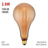 Buy cheap S165 Bulb, Decorative Lamp, E27 LED Bulb, Fashionable Glass Bulb, Energy Saving Lamp from wholesalers