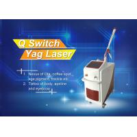 Stationary Q - Switched ND Yag Laser Tattoo Temoval Beauty Machine Manufactures