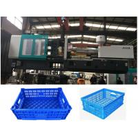 Automated Fruit Basket Injetion Molding Machine Of Boxes , Plastic Things Making Machine Manufactures