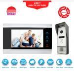 OEM Home Security Wire Door VIDEO phone waterproof Video Camera Door Bell with RECORD Manufactures