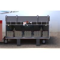 Outdoor Large Mobile 5D Cinema , 12 Seats Cinema Truck Manufactures