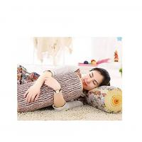 China Soft Antibacterial 3D Mesh Pillow Wood Log Decoration For Bed Sofa Office Chair on sale