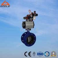 China Pneumatic Soft Seal Flanged Butterfly Valve (GAD641X) on sale